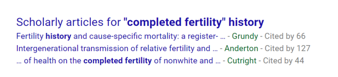 completed-fertility